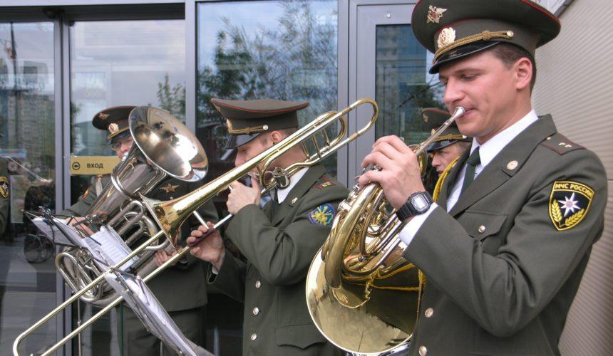 Военный духовой оркестр