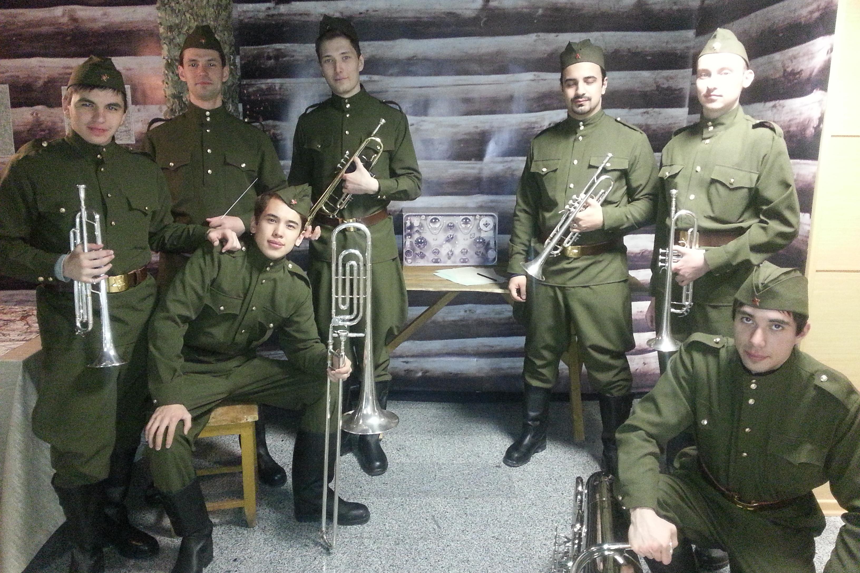 Видео военного духового оркестра