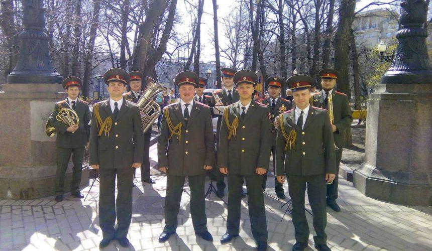 Военный оркестр военный хор