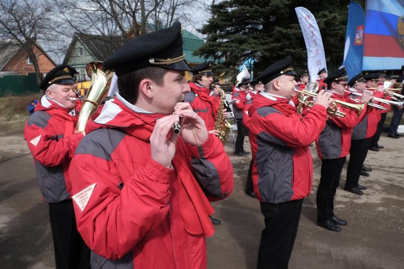 Военный оркестр на праздник