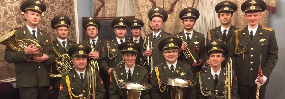 Военный духовой оркестр в Москве
