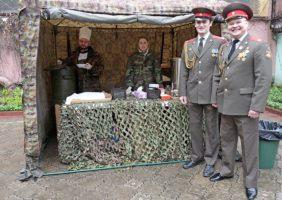 Полевая кухня в Москве